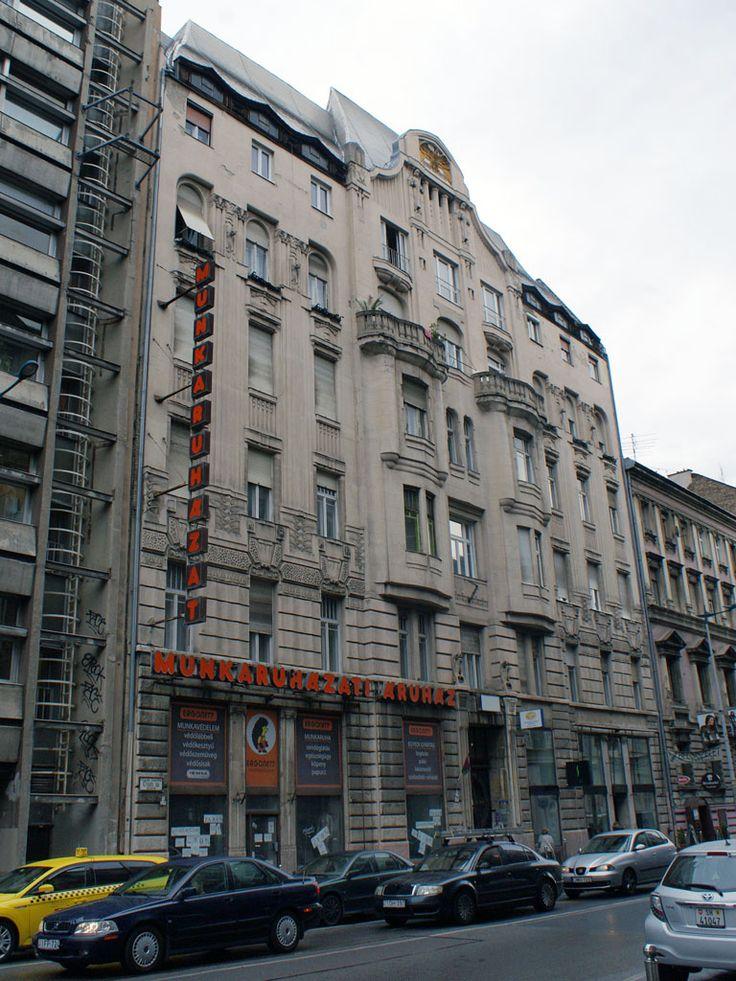Budapest, Üllői utca 14 (1908, arch. Fodor Gyula)