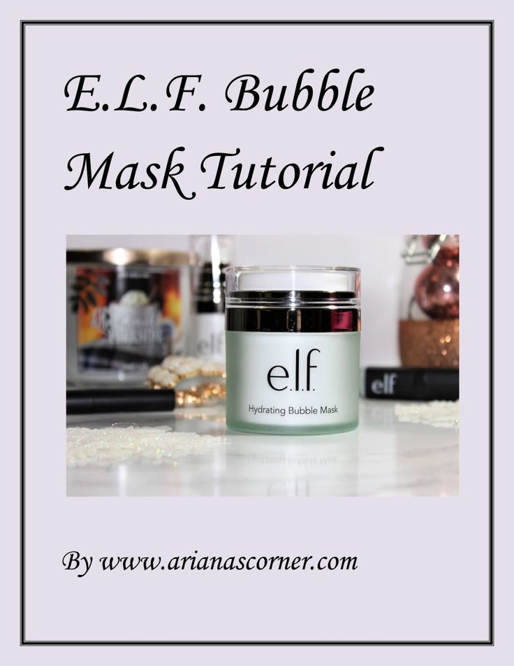 Hello beautiful readers! My first Video Tutorial is up on my new YouTube Channel. I absolutely love the new ELF bubble mask, and that's rare for me because I do not use any store-bought clean…
