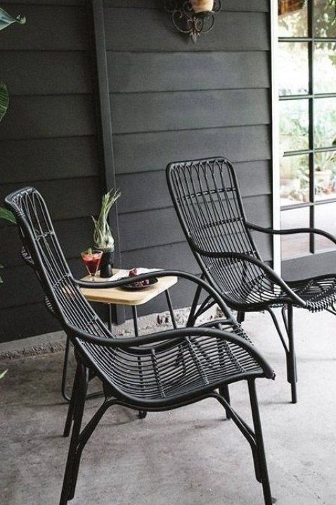 Medan Graphite Lounge Chair Lounge Chairs Modern Mid Century And Scandinavian Furniture In 2020 Patio Decor Outdoor Chairs Outdoor Decor