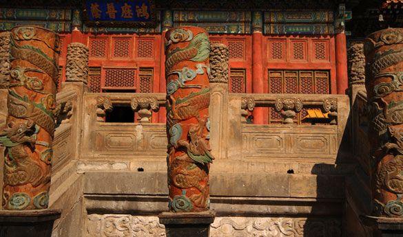 Templo en Chengdu.