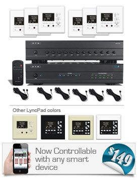 Whole home audio control