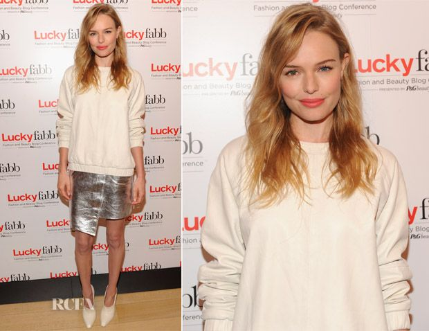 Kate Bosworth In Topshop – Lucky Magazine's Two-Day East Coast FABB: Fashion and Beauty Blog Conference