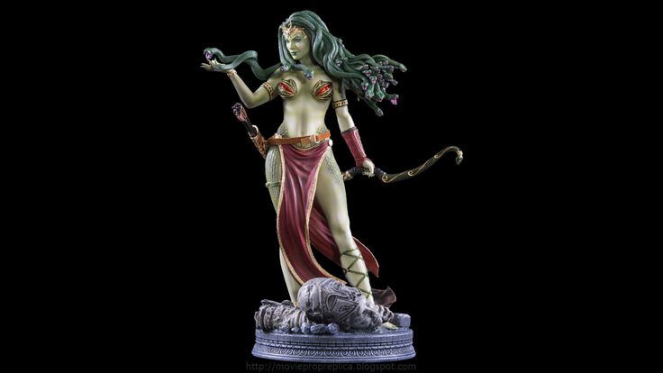 Fantasy Figure Collection: Medusa Victorious with Legs EX ¼th Scale Painted Polystone Statue