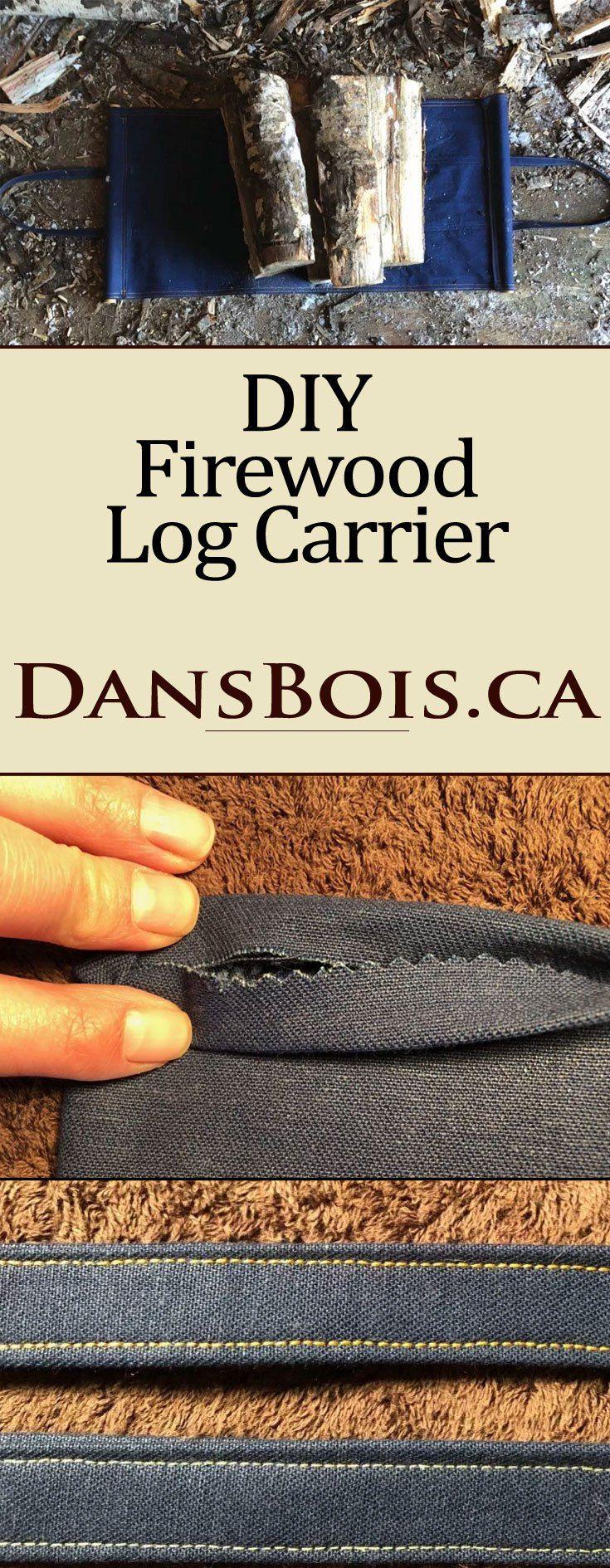 DIY Log Carrier | | DIY/Hacks