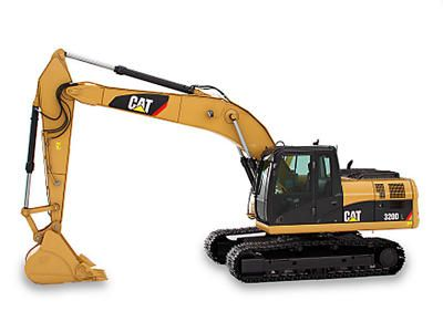 Caterpillar 320C L Hydraulic Excavator Free Vehicle Paper Model Download