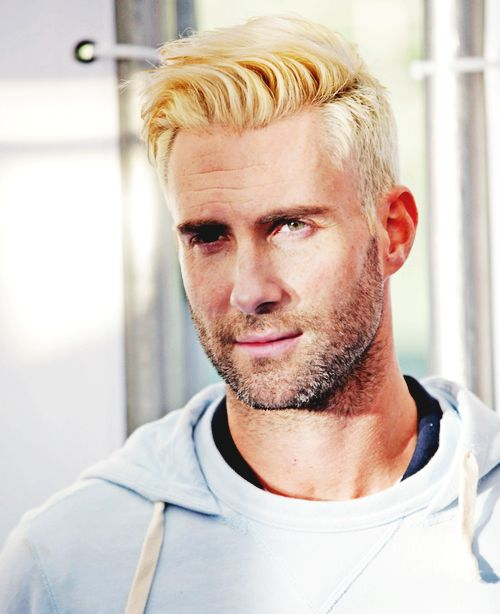 Adam Levine/ blondie