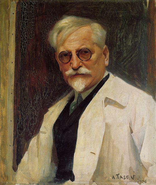 Portrait of Alphonse Mucha by Tasev