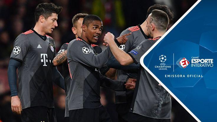 Melhores Momentos - Arsenal 1 x 5 Bayern de Munique - Champions League (...