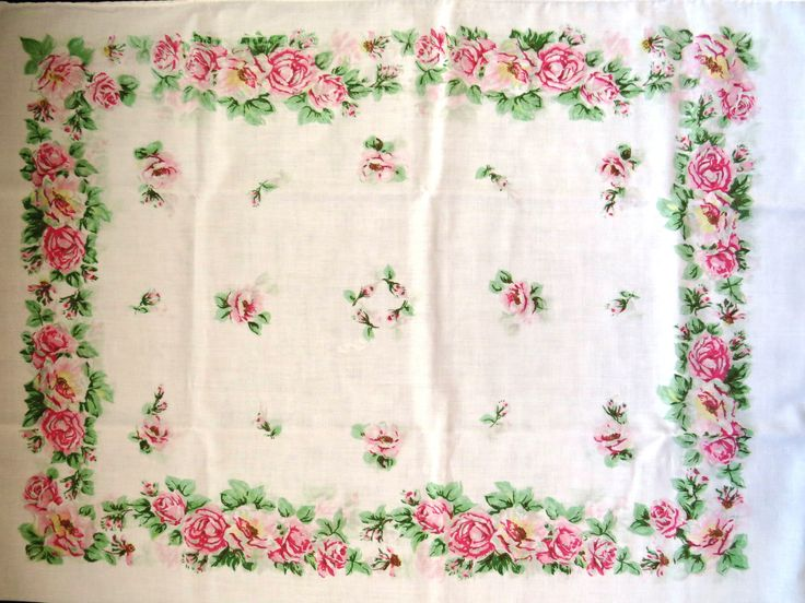 17 Best images about Vintage Bedding Linens! on Pinterest Vintage twins, Embroidered ...