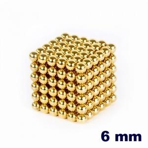 NeoCube Dorado de 6 mm    http://www.regatron.es/neocube/neocube-dorado-cubo-216-bolas-6mm-diametro.html
