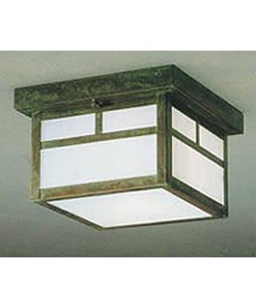 Arroyo Craftsman MCM-7T-WO-BK Mission Outdoor Flush Mount | Capitol Lighting 1800lighting.com