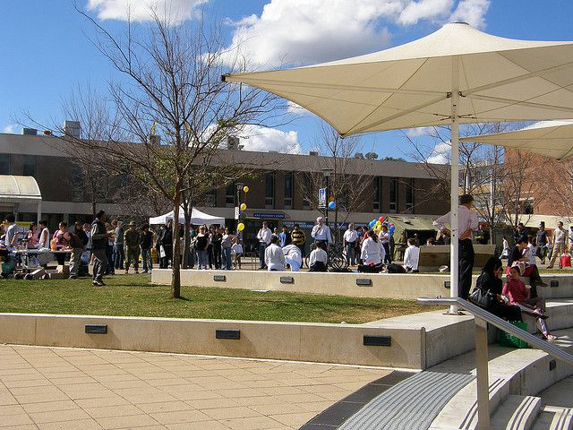 ANU Union Court by Earlyninja, via Flickr