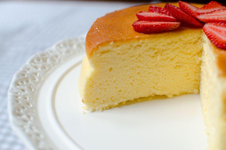 Japanese Cheesecake Recipe: Japanese Cheesecake