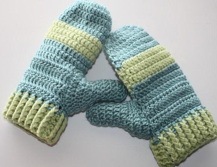 161 Best Mittens Gloves Crochet Images On Pinterest Fingerless