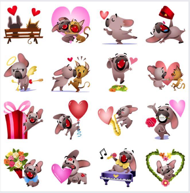 137 best Facebook Stickers images on Pinterest | Facebook ...