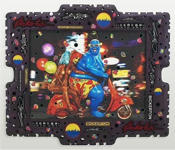 Mister Wink, Cosmos Ball, 2000 by Takashi Murakami. Neo-Pop Art. figurative