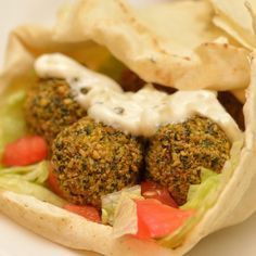 Falafel recept