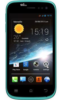 Visuel du téléphone Wiko Cink Slim 2 Turquoise