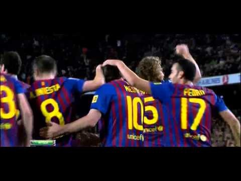Andres Iniesta Magic Assist & Messi Goal Vs Getafe 11-12 HD720p [ 10-04-2012 ]