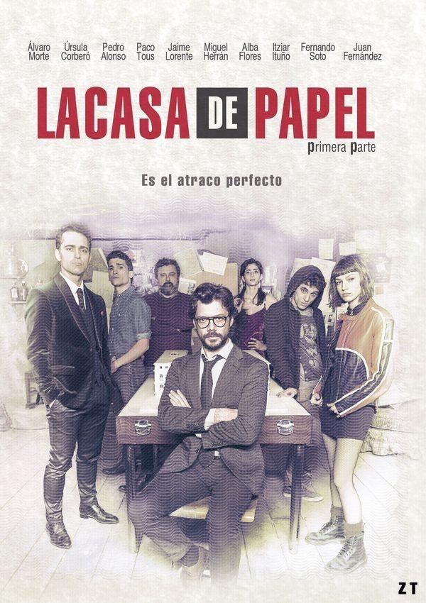 Huit voleurs font une prise d'otages dans la Maison royale de la Monnaie d'Espagne, tandis qu'un génie du crime manipule la police pour mettre son plan à exécution.