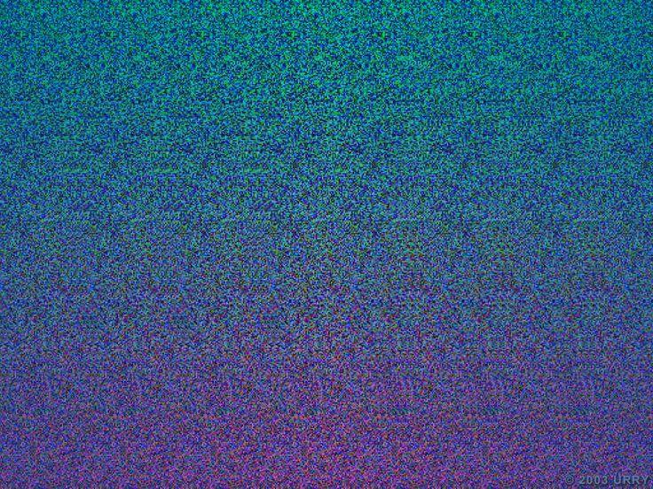 estereogramas 3d | Estereograma – Você consegue ver um?