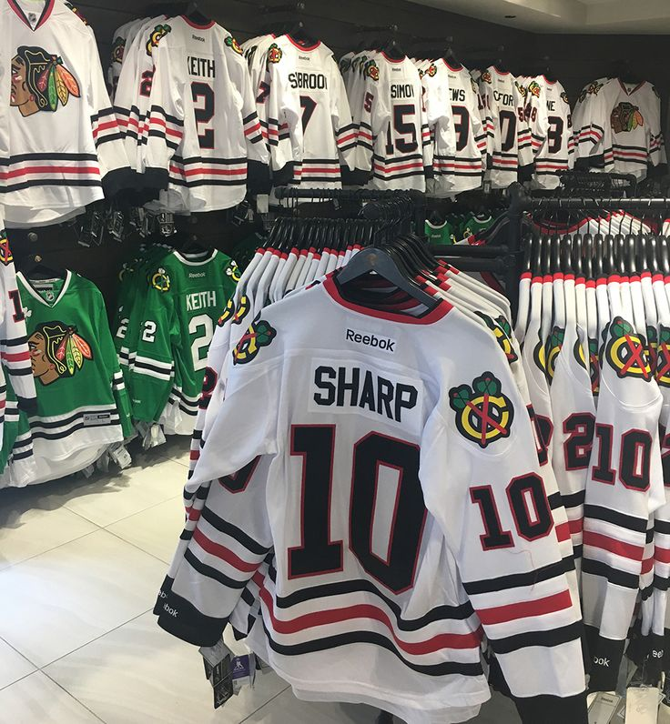 SALE ALERT  Take 60% off jerseys and Reebok apparel at the #BlackhawksStore and Madhouse Team Store!