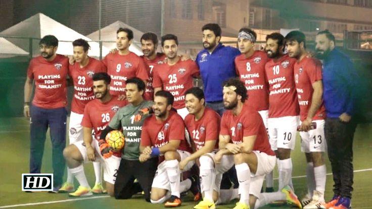 Leander Paes, Ranbir Kapoor, Abhishek Bachchan plays Football for Charity , http://bostondesiconnection.com/video/leander_paes_ranbir_kapoor_abhishek_bachchan_plays_football_for_charity/,  #AbhishekBachchan #ArjunKapoor #DinoMorea #LeanderPaes #MumbaiCityFootballClub #RajKundra #RanbirKapoor #SanjayDutt #ShabbirAhluwalia