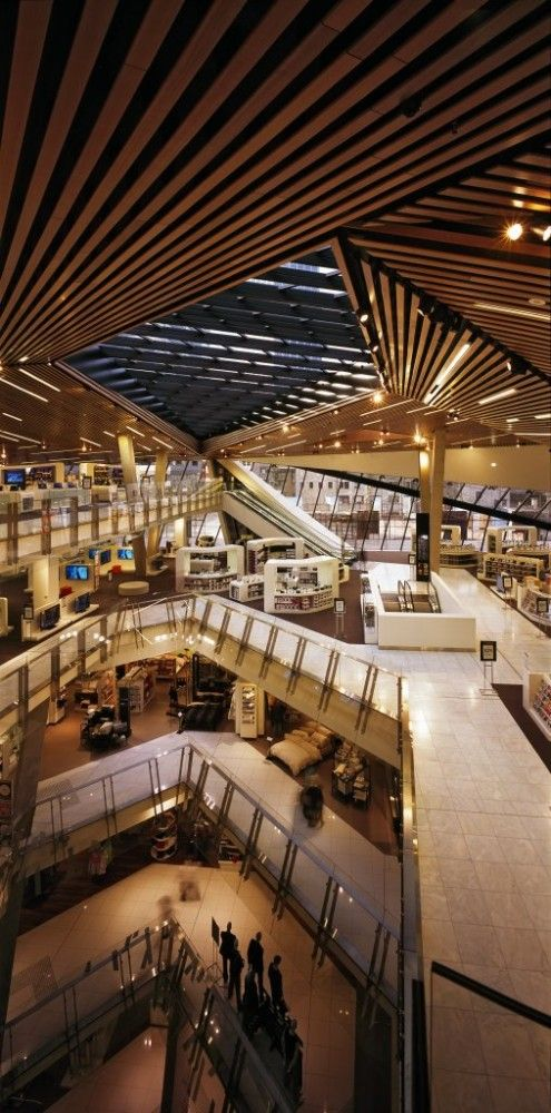 Myer Department Store / Peddle Thorp Architects, Melbourne, Australia