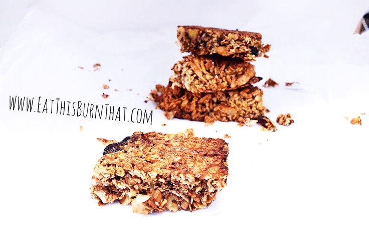 Healthy Homemade Muesli Bars - refined sugar free and no nasties!