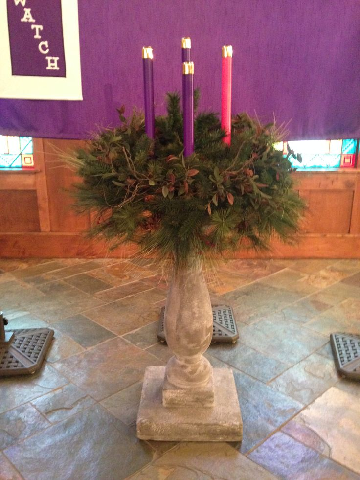 Best 25 advent wreaths ideas on pinterest advent wreath for Advent decoration ideas