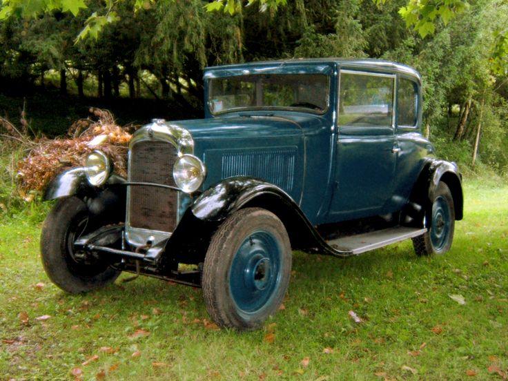 Citroën C4 des années 1930, première voiture de série à proposer différentes options de couleurs, de finition etc, on ne parle plus de fordisme, mais de citroënisme.