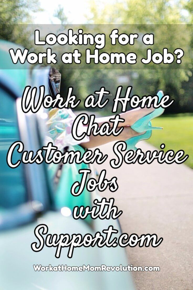 Support.com continues to hire home-based chat customer service reps in the US! These work at home positions are 100% remote. Compensation is $10.25 per hour. If you're looking for a work from home job with an established company, this may be perfect for you. You can make money from home!
