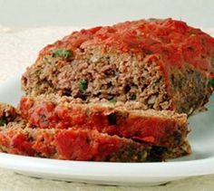 Cracker Barrel Meatloaf    Ingredients:    2 pounds ground beef    6 ounces onion, chopped    4 ounces bell green peppers, diced    2 eggs    1 teaspoon salt    ½ teaspoon freshly black ground pepper    8 ounces diced canned tomatoes    ½ cup grated biscuit crumbs