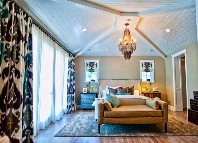 Колоритный орнамент икат в интерьере   Sweet home