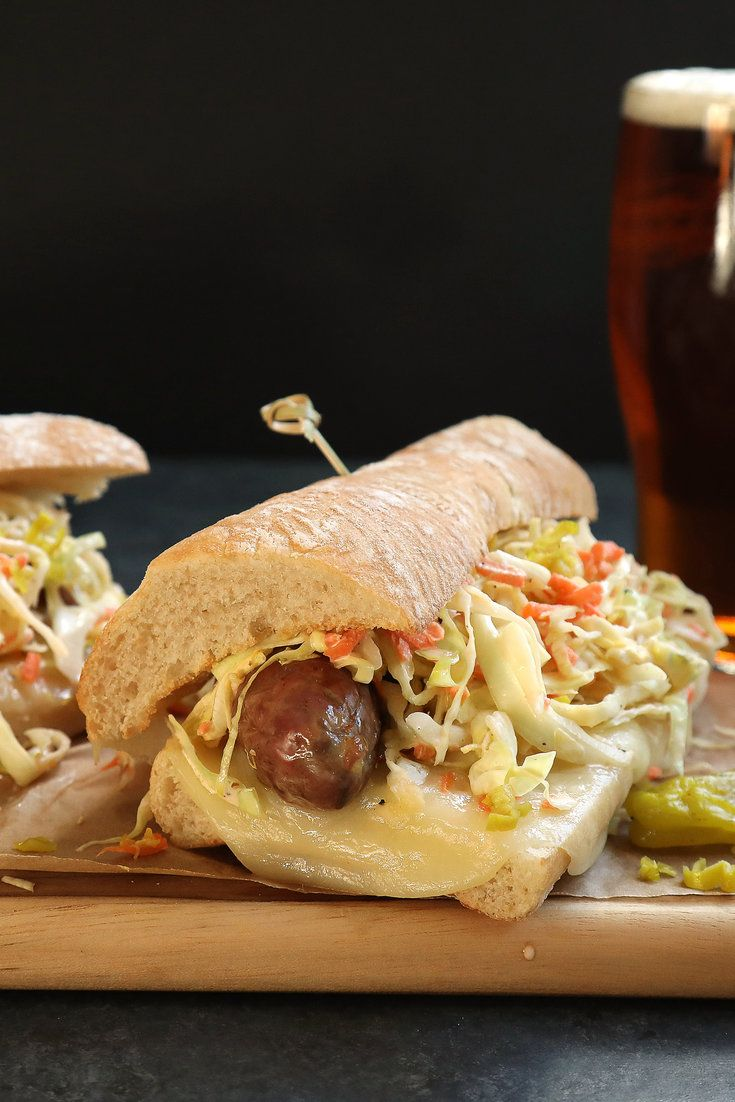 NYT Cooking: These tasty sausage and melted provolone sandwiches are a snap to put together and can be made with grilled, roasted or pan-fried sausages. A quick slaw of cabbage, carrots, mayonnaise and pickled peppers adds a moist and spicy crunch.