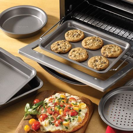 Countertop Oven Bakeware : ... Toaster Oven on Pinterest How to bake chicken, Focaccia and Toaster
