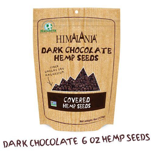 Sementes de cânhamo com chocolate prometem ser nutritivas e saborosas