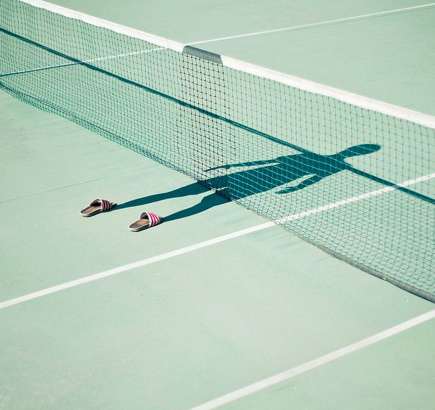 """I'm not there - Photography series by Pol Úbeda Hervàs """"These pictures are the way I see myself now. My shadow is there but I erase myself because I don´t know who I am any longer.The shoes remain only to make sure there is something more than… a shadow."""" - Spanish photographer Pol Úbeda Hervàs (via NOTCOT.ORG)"""