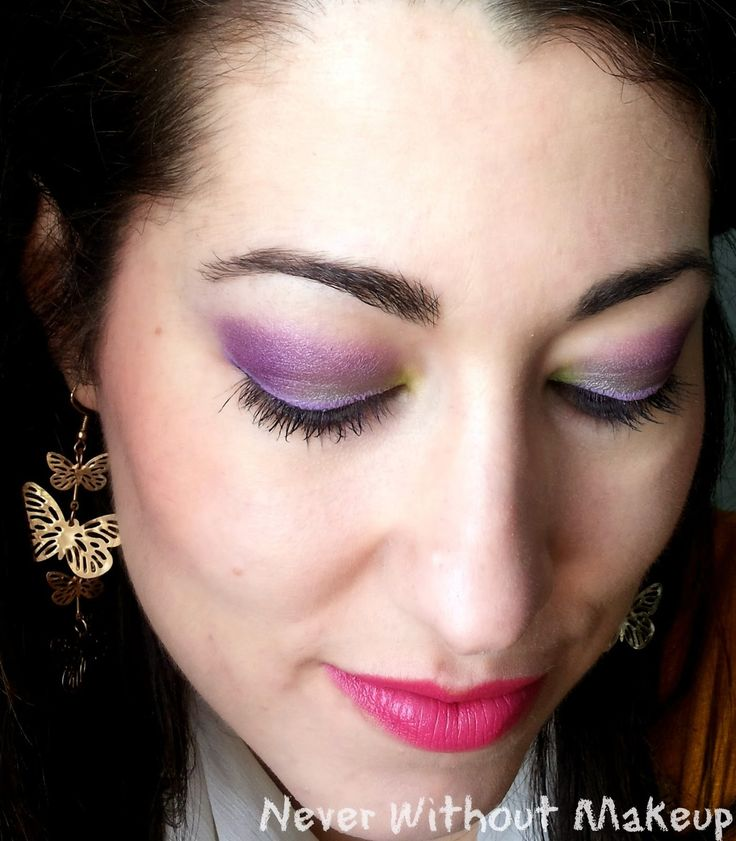 Never Without Makeup: Tag: The Spring Sparkling Challenge - Spring means Colours