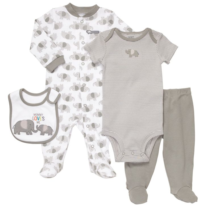 4 Piece Outfit Set Baby Essentials Take Me Home Sets