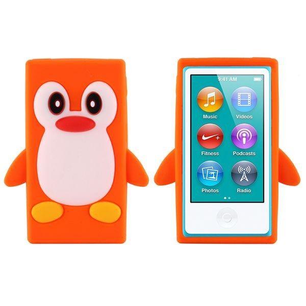 Happy Penguin (Oransje) iPod Nano 7 Deksler