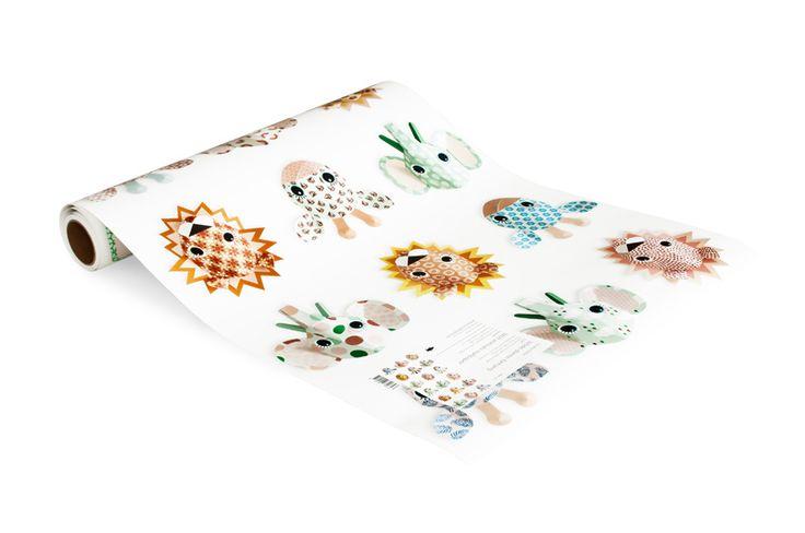 Wilde dieren behang lief | Producten | Studio ditte