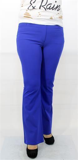 Poliviskon Mavi Kumaş Pantolon
