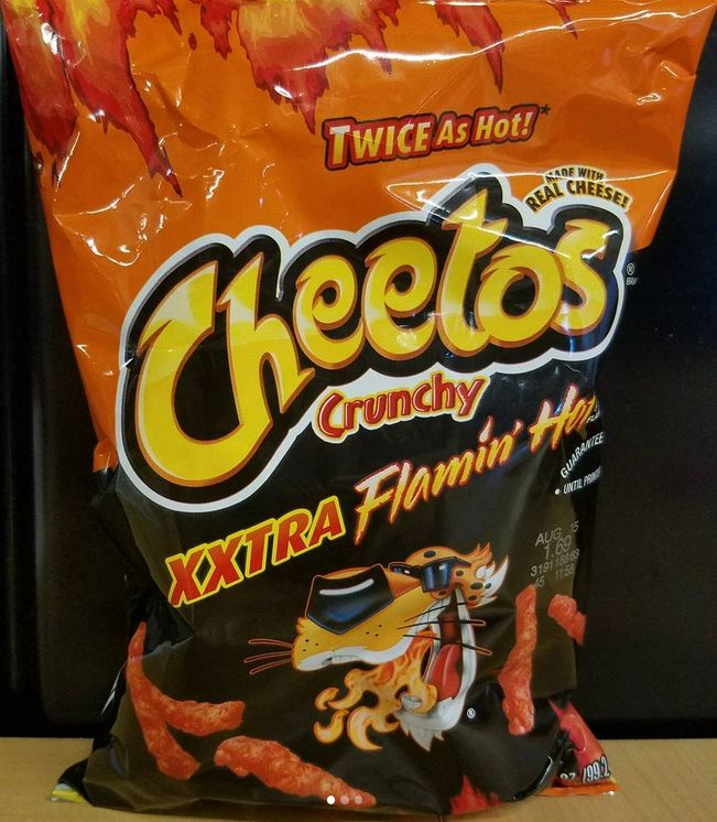 Cheetos Crunchy XXTRA Flamin Hot