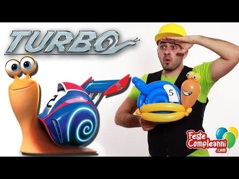 Palloncino Lumaca Balloon film Turbo - Turbo Snail Balloon - Balloon turbo film, palloncini modellabili lumaca, tutorial per fare scultura di palloncini a forma di turbo, la lumaca del film turbo. Balloon.  Film Turbo - La Lumaca con i Palloncini - Ed ecco a voi Turbo!! La lumaca più veloce del mondo, direttamente dal film della Dreamworks, realizzata dal nostro Mr. Nany con i suoi coloratissimi palloncini.