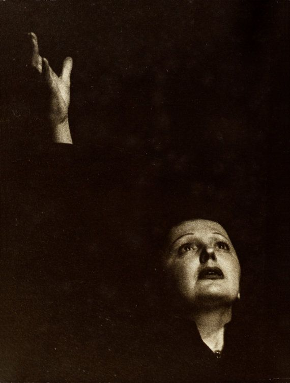 Edith Piaf by Marvin Koner
