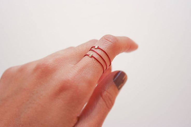 Silk Stacking Ring