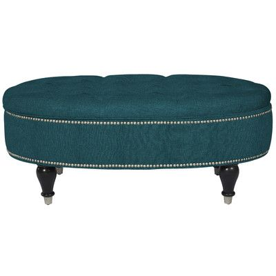 Buy Penny York Upholstered Storage Ottoman Color: Midnight ...