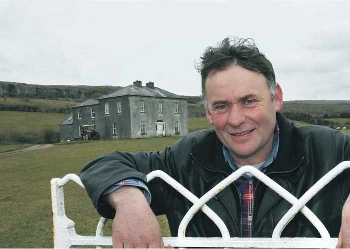 Pat McCormack guided walk at Father Ted's