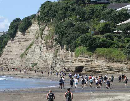 Total Sport Coastal Challenge, Saturday 1st March, 2014. Event options: 6km Run/Walk, 11km Run/Walk, 17km Run/Walk, 22km Run, 33km Full Monty Run, 33km Teams Run. Enter online at www.coastalchallenge.co.nz